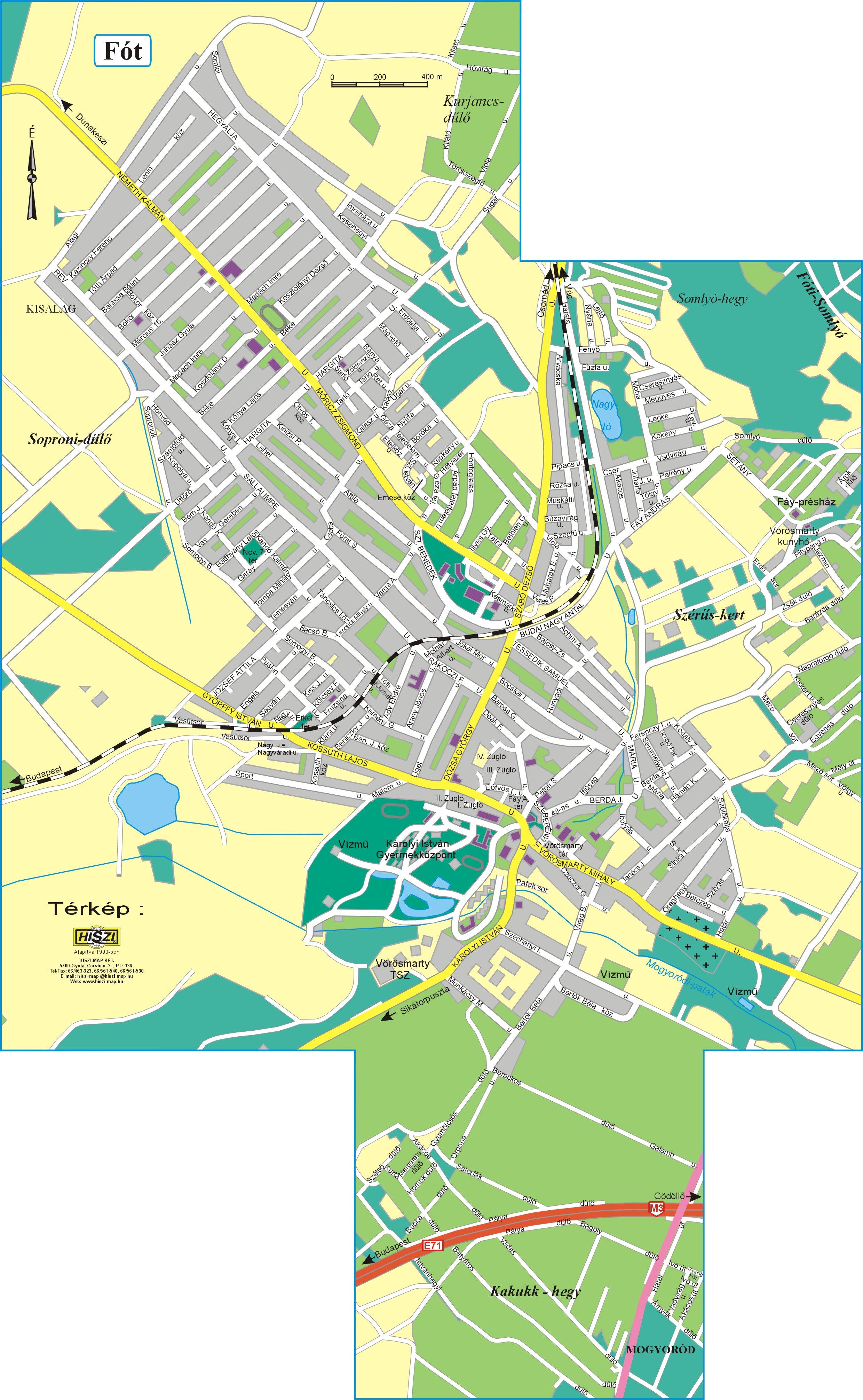 fót térkép GKRTE GÖDÖLLŐ   Gödöllő és Környéke Regionális Turisztikai Egyesület fót térkép
