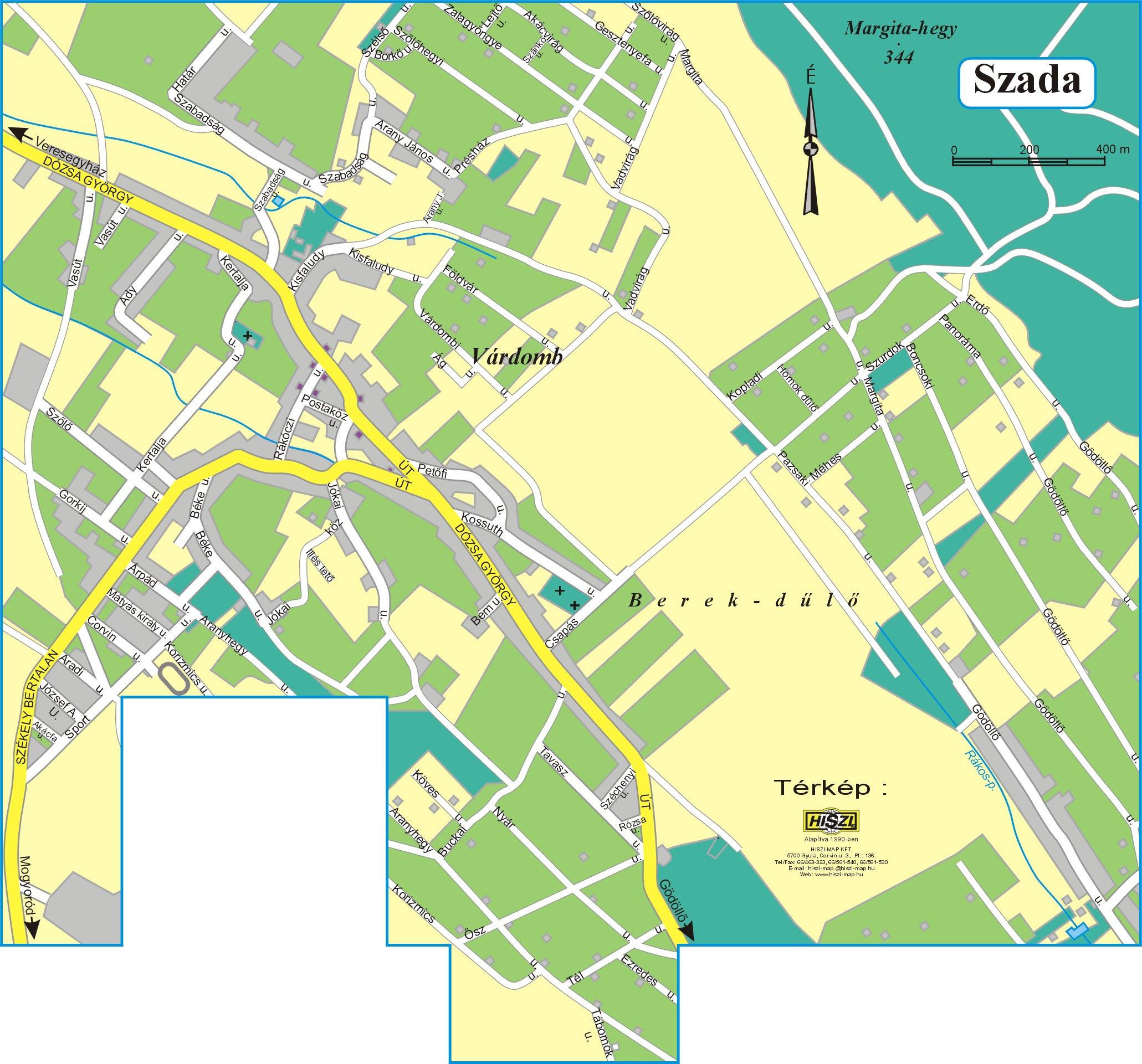 szada térkép GKRTE GÖDÖLLŐ   Gödöllő és Környéke Regionális Turisztikai Egyesület